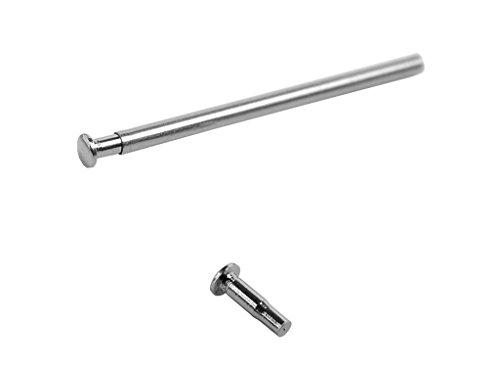 Minott Nietstift | für Faltverschluss | Kopfgröße Ø 1,8 | 16mm, 18mm, 20mm, 22mm, 24mm | 32287, Stift-Länge:24 mm