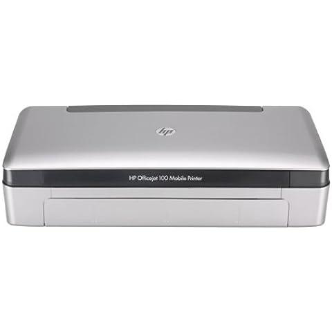 HP Officejet Impresora móvil HP Officejet 100 - Impresora de tinta (4800 x 1200 DPI, A4 (210 x 297 mm), 500 páginas por mes, 5 ppm, 18 ppm, 22 ppm) color (importado)