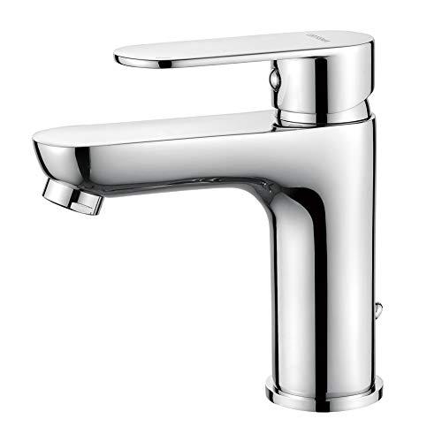 GRIFEMA BERLIN-G11004   Badarmatur - Bad Wasserhahn, G3/8'' Anschlüsse   Einhebel - Waschtischmischer, Komfort - Höhe (90 mm), Chrom