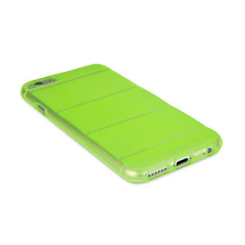 BoxWave Coque Apple iPhone 6Deelite-étroit, multicolore, Apple iPhone 6Coque en TPU avec extrêmement robuste contours Apple iPhone 6à l'arrière-Augmentation Pochettes (Vert)
