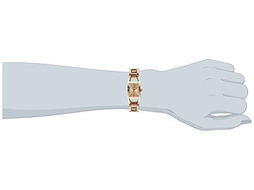 Anne Klein 10/N6418RGRG – Reloj para mujeres, correa de acero inoxidable color oro rosa