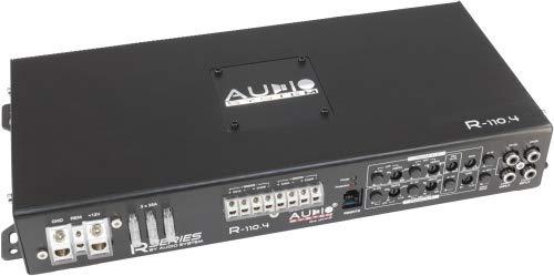 Audio System R-110.4 4-Kanal Class A/B Hochleistungs-Verstärker mit SMD Technologie