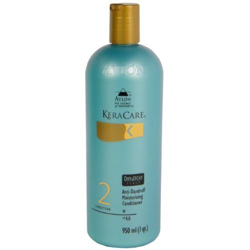 Keracare Dry & Itchy Scalp Anti-Dandruff Moisturizing Conditioner 32 oz by Avlon [Beauty] (English Manual)
