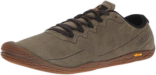 23af9d77 Merrell Vapor Glove 3 Luna Leather, Zapatillas para Hombre, Verde Dusty  Olive, 42