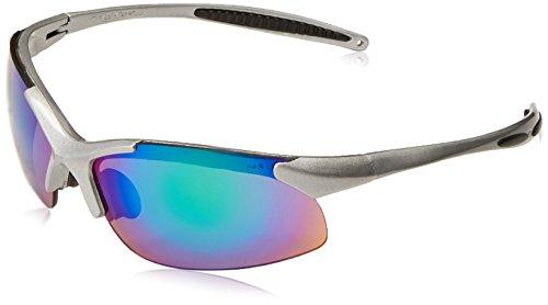 Bogenmaß Infinity Grün Spiegel Objektiv silber Rahmen Schutzbrille Modell in6-gr