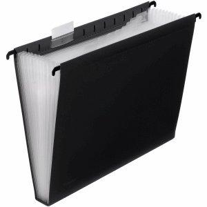 Foldersys Hängetasche A4 PP 12 Fächer schwarz
