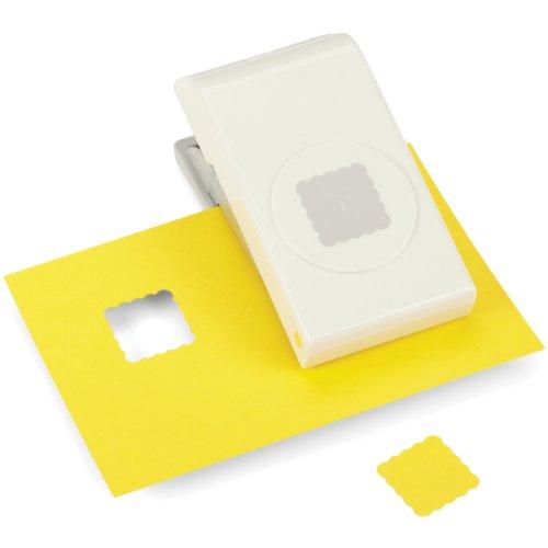 Dimensions Maße EK Success Scallop quadratisch Punch 1 (Ek Success Nesting Paper Punch)