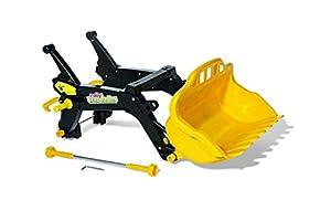 Rolly Toys 408962 RollyTrac - Cargador para niños de 3 a 10 años, Color Negro