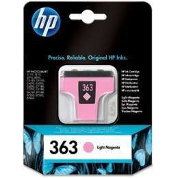 HP 363 Cartouche d'encre d'origine compatible avec Imprimantes Photosmart Magenta Claire