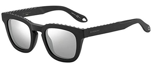 Givenchy gv 7006/s t4 807, occhiali da sole unisex-adulto, nero (black/grey), 48