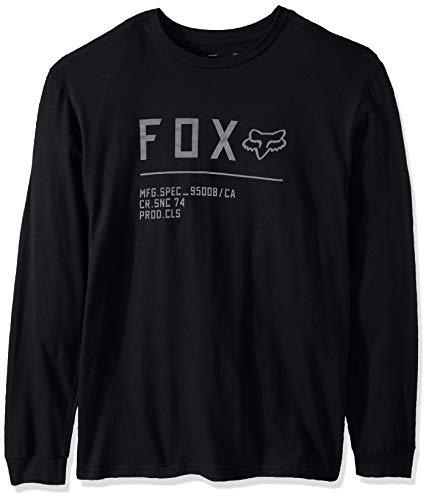 Fox Non Stop Ls Tee Black XXL -