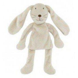 DPAM - Doudou DPAM Du pareil au même lapin longue oreille blanc plat billes - 5115
