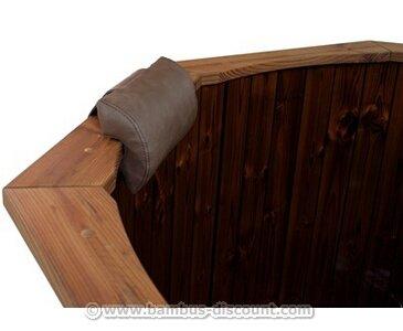 Kopfstütze für Hot Tub schwarz - Badefaß Badefässer Sauna