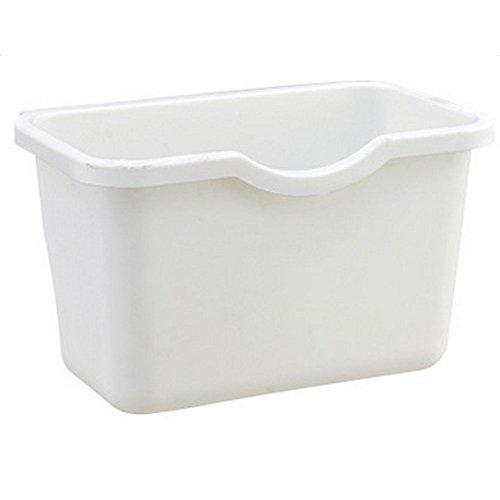 Leisial Basura de Cocina Plástico Basura Recipiente para Recoger Colgar Caja de Almacenamiento Multifuctional...