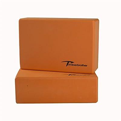 Timberbrother 2er-Set Yoga Blöcke / Yogablock - Wählen Sie Ihre Farbe und Größe