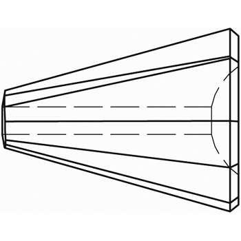 Original Swarovski Elements Beads 5540 MM17,0 - Olivine (228) ; Packing Unit: 48 pcs. Jet (280)