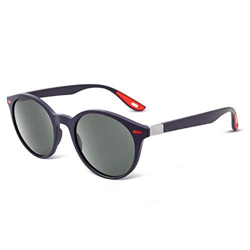 Kjwsbb Men Women Classic Retro Polarized Sunglasses Round Full Frame Male Sun Glasses Eyeglasses