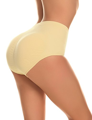 Yulee Femme Sculptante Push Up Gainante Ventre Plat Amincissante Taille Moyenne Rembourré