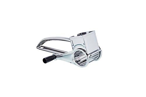 Kitchen Craft KCDRUMSS - Rallador giratorio de acero inoxidable con 1 tambor (estuche regalo)