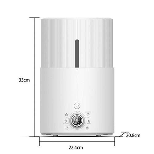 ß Doppel Nebel Luftbefeuchter Hause Ruhig Schlafzimmer 5L Große Kapazität Uv-Lampe Reinigung Heizung Spray Klimaanlage Aromatherapie Maschine ()