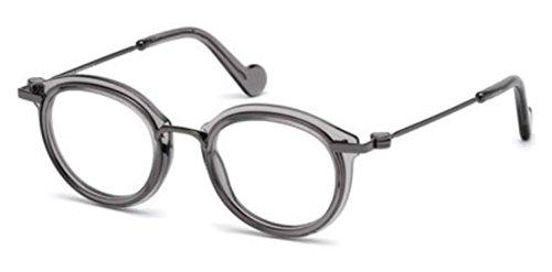 Moncler ML5007, Occhiali da Sole Unisex-Adulto, Grigio, 45.0