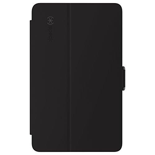Speck Products StyleFolio Schutzhülle und Ständer für LG G Pad X 8.0, Schwarz/Slate Grau, 78586-b565