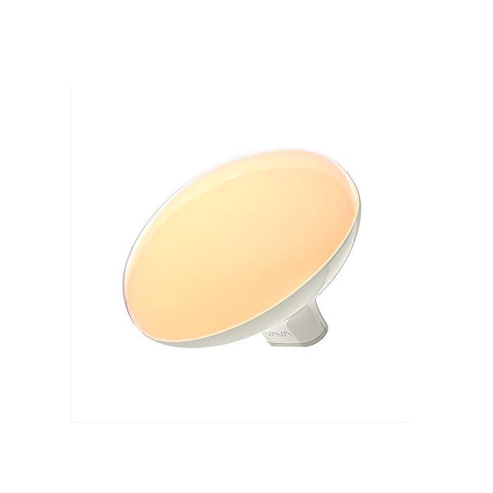 Tageslichtlampe VAVA LED Stimmungslicht Lichttherapie Nachttischlampe Farbwechsellampe 7 Farben Atmosphäre Tischlampe