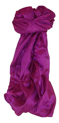 Pashmina & Silk Varanasi Seide Langer Tuch Hadi 1 Heritage