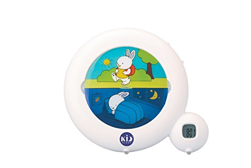 Claessens' Kid -KS0025- Réveil Kid'Sleep classic Blanc