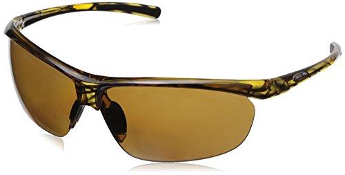 Suncloud Zephyr +1.50 Polarized Reader Sunglasses, Tortoise Frame, Brown Polycarbonate Lenses