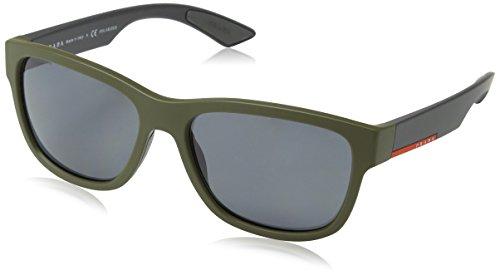 PRADA SPORT Herren 03QS Sonnenbrillen green rubber