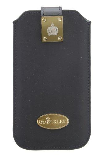 Glööckler Prestige Case für Apple iPhone 5/5S/5C Größe XLS Velvet schwarz