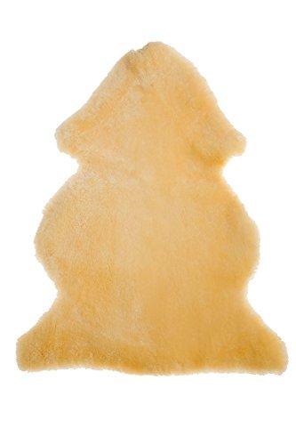 Fellhof 107 Baby Lammfell, OEKO-TEX® Standard 100 zertifiziert, geschoren, Größe 80 - 90 cm, waschbar bei max. 30 °C