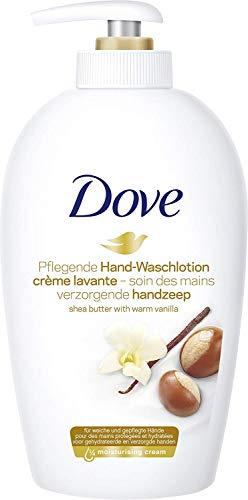 Dove Flüssigseife Pflegende Hand-Waschlotion Pure Verwöhnung Seifenspender, 250 ml