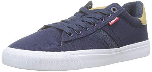 Levis Footwear and Accessories Skinner, Zapatillas para Hombre, Azul (Navy Blue 17), 42 EU