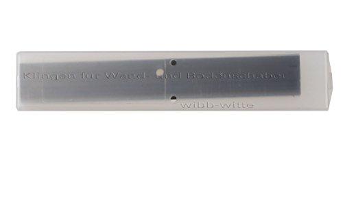 Universal-Schaber (Allway-Schaber), Bodenschaber, Wandschaber, Glasschaber, 100mm inkl. 10 Ersatz Schaberklingen