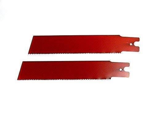 2 Säbelsägeblätter 150 / 200 x 25 x 0,9mm HSS-Bi-Metall , für Rems, Säbelsäge, Säbelsägeblatt (200mm)