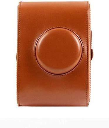 forusky Retro Leder Kamera Case Tasche mit Schulterriemen für Lomography Lomo Sofortbildkamera-Braun
