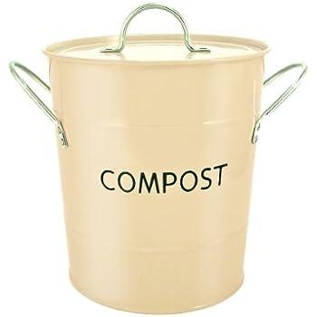 Eddingtons Compost Pail, Buttercream