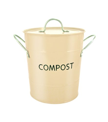 Eddingtons Compost Pail, Buttercream