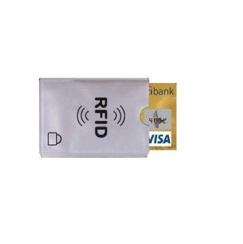 RFID-Schutzfolie für Kreditkarten, EC-Karte, gegen Datenklau, Funktechnik NFC