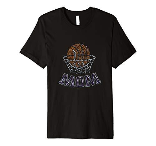 BASKETBALL T-Shirt Mom Cool Diamant Design Art Graphic Tee -