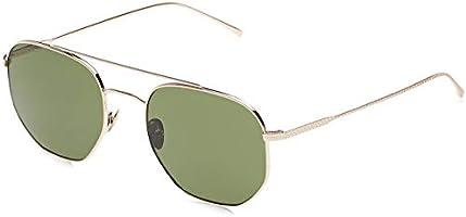 LACOSTE Unisex Sunglasses Square La Casual Elegance Shiny