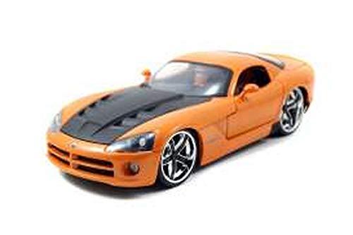 Jada Toys-Coche en Miniatura de colección, 96805or _ M5, Naranja/Negro