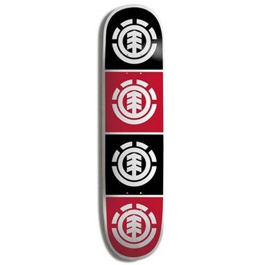 Element Skateboard Decks - Element Quadrant Skateboard Deck - 8 inch
