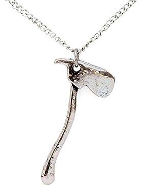 Wikinger Axt Anhänger Kette im schlichten Stil by Serebra Jewelry