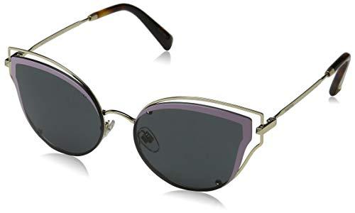 Valentino Damen 0VA2015 300387 58 Sonnenbrille, Light Gold/Smoke