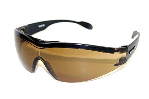 NAVIGATOR PILOT Sport- u. Freizeitbrille, dank rutschfesten ergonomischen Bügeln auch geeignet als Fahrrad- Ski- und Motorradbrille, mit UV400 Standard (Sonnenbrille) für Laufsport/Laufbrille - Pilot Navigator
