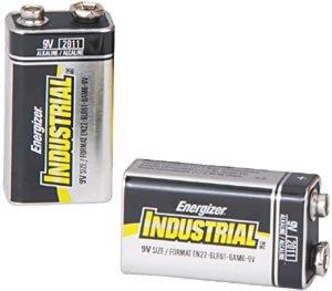 Eveready Energizer Batteries EVEEN22 Industrie-Alkaline-Batterien 9 Volt-Packung mit 12 St-ck Industrie Alkaline-batterien