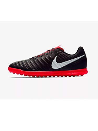 Nike Legend 7 Club Tf, Scarpe da Fitness Uomo, Multicolore (Black/Pure Platinum/Lt Crimson 006), 44 EU